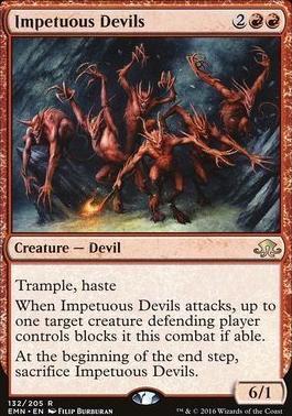 Eldritch Moon Foil: Impetuous Devils
