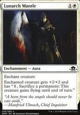 Eldritch Moon Foil: Lunarch Mantle