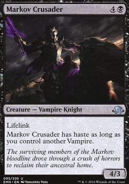 Eldritch Moon Foil: Markov Crusader