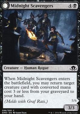 Eldritch Moon Foil: Midnight Scavengers