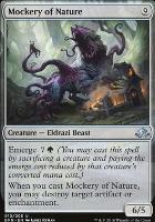 Eldritch Moon Foil: Mockery of Nature