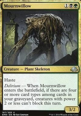 Eldritch Moon Foil: Mournwillow