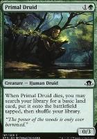 Eldritch Moon Foil: Primal Druid