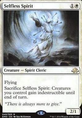 Eldritch Moon Foil: Selfless Spirit