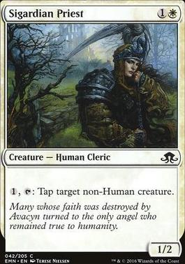 Eldritch Moon Foil: Sigardian Priest