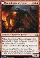 Eldritch Moon Foil: Smoldering Werewolf