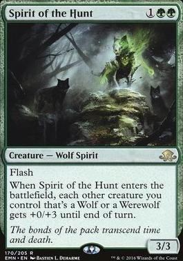 Eldritch Moon Foil: Spirit of the Hunt
