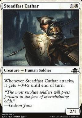 Eldritch Moon Foil: Steadfast Cathar