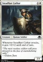 Eldritch Moon Foil: Steadfast Cathar