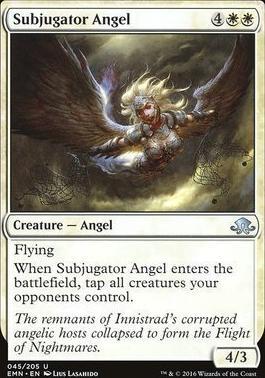 Eldritch Moon Foil: Subjugator Angel