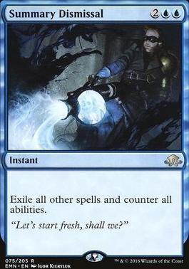 Eldritch Moon: Summary Dismissal