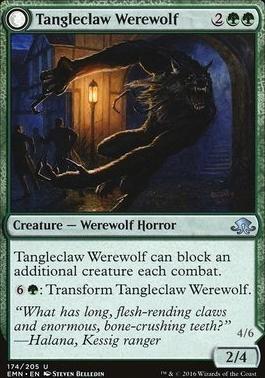 Eldritch Moon: Tangleclaw Werewolf