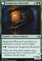 Eldritch Moon Foil: Tangleclaw Werewolf