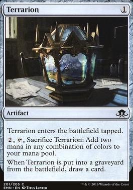 Eldritch Moon Foil: Terrarion