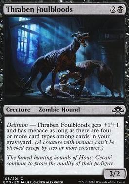 Eldritch Moon Foil: Thraben Foulbloods