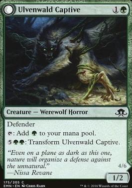 Eldritch Moon Foil: Ulvenwald Captive