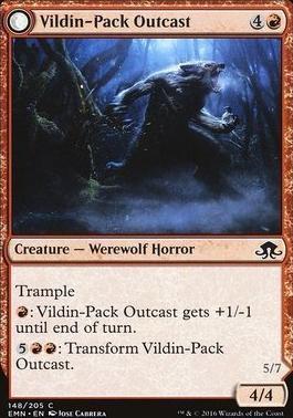 Eldritch Moon Foil: Vildin-Pack Outcast
