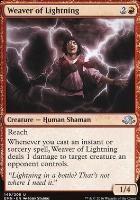 Eldritch Moon Foil: Weaver of Lightning