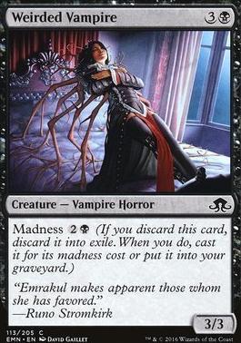 Eldritch Moon Foil: Weirded Vampire