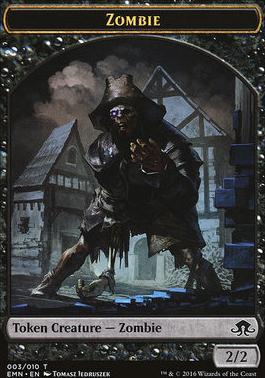 Eldritch Moon: Zombie Token (03)