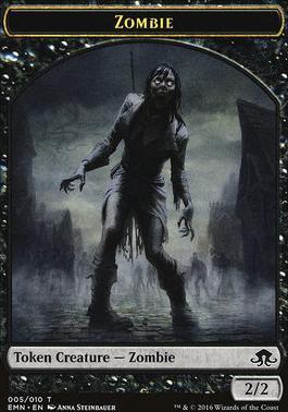Eldritch Moon: Zombie Token (05)