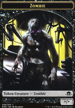 Eldritch Moon: Zombie Token (06)
