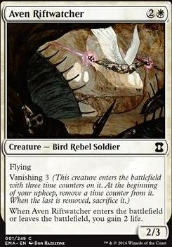 Eternal Masters Foil: Aven Riftwatcher