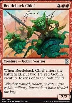 Eternal Masters: Beetleback Chief