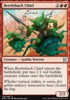 Eternal Masters Foil: Beetleback Chief