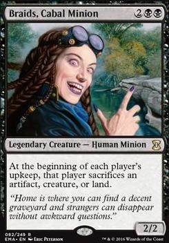 Eternal Masters: Braids, Cabal Minion