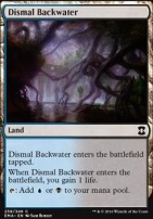 Eternal Masters Foil: Dismal Backwater