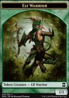 Eternal Masters: Elf Warrior Token