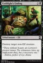Eternal Masters Foil: Eyeblight's Ending