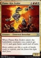 Eternal Masters Foil: Flame-Kin Zealot