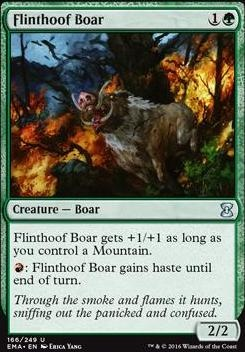 Eternal Masters Foil: Flinthoof Boar