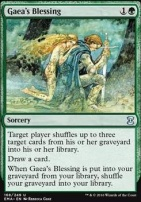 Eternal Masters Foil: Gaea's Blessing