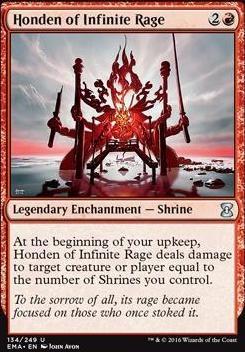 Eternal Masters Foil: Honden of Infinite Rage