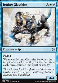 Eternal Masters Foil: Jetting Glasskite