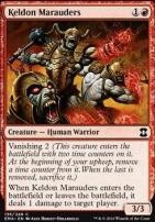 Eternal Masters Foil: Keldon Marauders