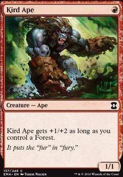 Eternal Masters Foil: Kird Ape