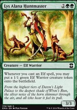 Eternal Masters Foil: Lys Alana Huntmaster