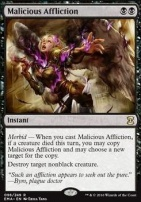 Eternal Masters Foil: Malicious Affliction