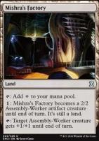 Eternal Masters Foil: Mishra's Factory