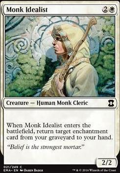 Eternal Masters Foil: Monk Idealist