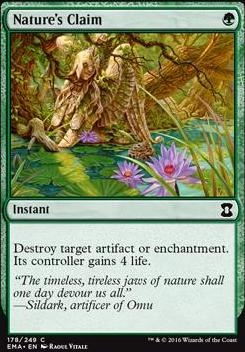 Eternal Masters Foil: Nature's Claim
