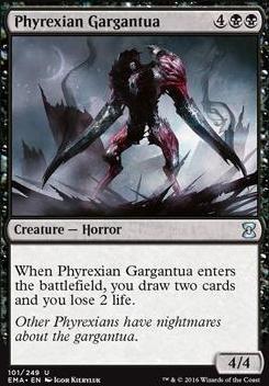 Eternal Masters: Phyrexian Gargantua