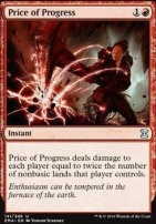 Eternal Masters Foil: Price of Progress