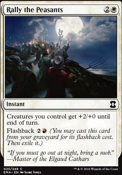 Eternal Masters Foil: Rally the Peasants