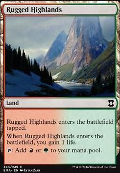 Eternal Masters Foil: Rugged Highlands
