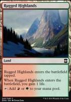Eternal Masters Foil: Rugged Highlands